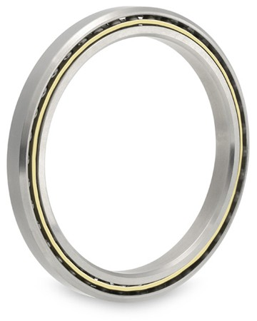 cage material: Kaydon Bearings S17003CS0 Thin-Section Ball Bearings
