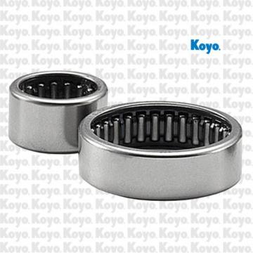 overall width: Koyo NRB J-36 Drawn Cup Needle Roller Bearings